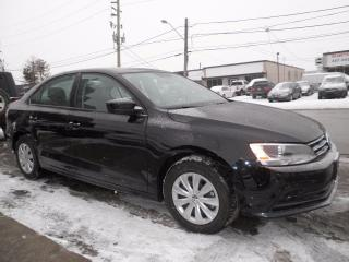 Used 2017 Volkswagen Jetta TRENDLINE+ for sale in Brampton, ON