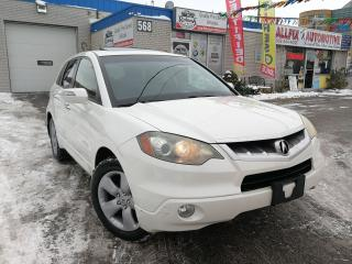 Used 2009 Acura RDX w/Tech Pkg SH-AWD_NAVI_Leather_Sunroof for sale in Oakville, ON