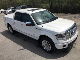 Used 2014 Ford F-150 Platinum ONLY 65000 km for sale in Perth, ON