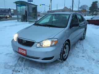 Used 2008 Toyota Corolla CE for sale in Scarborough, ON