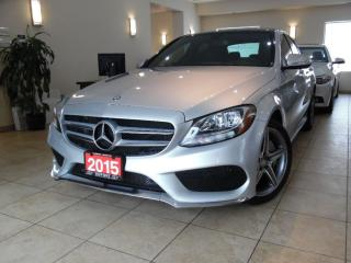 Used 2015 Mercedes-Benz C-Class C300 4MATIC AMG PKG|NAVI|PANOROOF! for sale in Toronto, ON