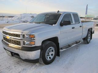 Used 2015 Chevrolet Silverado 1500 W/T Double Cab for sale in Thunder Bay, ON