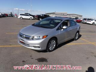 Used 2012 Honda CIVIC EX 4D SEDAN AT 1.8L for sale in Calgary, AB