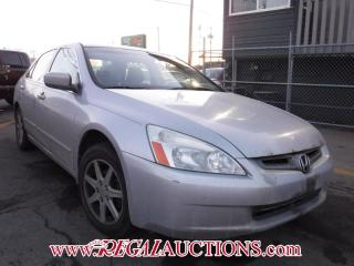 Used 2004 Honda Accord for sale in Calgary, AB
