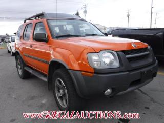 Used 2003 Nissan XTERRA  4D UTILITY S/C for sale in Calgary, AB