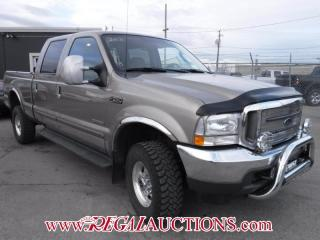 Used 2003 Ford F350SD 4WD LARIAT CREW CAB 4WD CREW CAB for sale in Calgary, AB