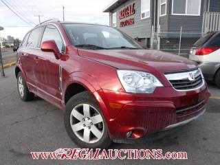 Used 2008 Saturn VUE XR 4D UTILITY for sale in Calgary, AB