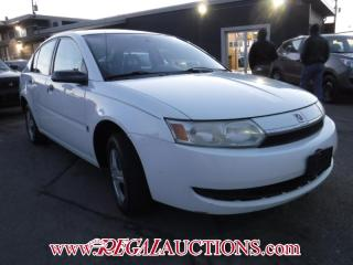 Used 2003 Saturn ION BASE 4D SEDAN for sale in Calgary, AB