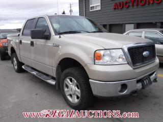 Used 2008 Ford F150  SUPERCREW 4X4 for sale in Calgary, AB