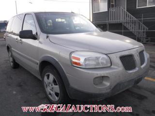 Used 2007 Pontiac Montana SV6 4D Wagon for sale in Calgary, AB