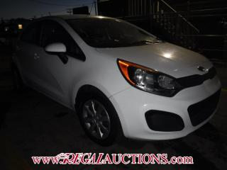Used 2012 Kia RIO LX 4D HATCHBACK for sale in Calgary, AB