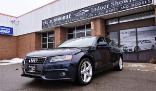 Used 2010 Audi A4 2.0T Premium LOW KMS QUATTRO MANUAL NO ACCIDENT for sale in Mississauga, ON