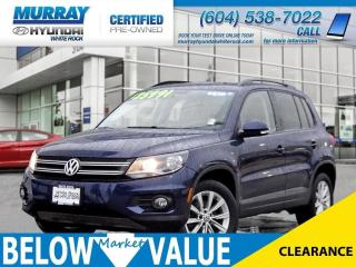 Used 2015 Volkswagen Tiguan Comfortline 4-Motion**Heated Seats**Sunroof** for sale in Surrey, BC