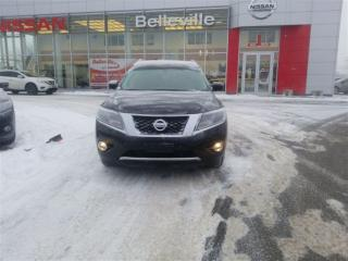 Used 2016 Nissan Pathfinder Platinum AWD 1 OWNER LOCAL TRADE for sale in Belleville, ON