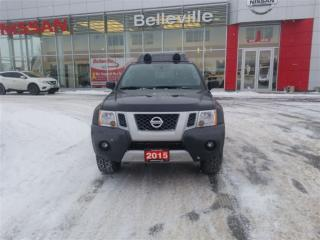 Used 2015 Nissan Xterra PRO-4X 4WD LOW KMS for sale in Belleville, ON
