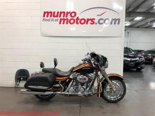 Used 2008 Harley-Davidson FLHRSE4 Screamin Eagle Anniversary 110 cu in for sale in St George Brant, ON