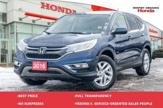 Used 2016 Honda CR-V EX for sale in Whitby, ON