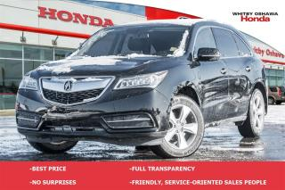 Used 2015 Acura MDX Base | Automatic for sale in Whitby, ON