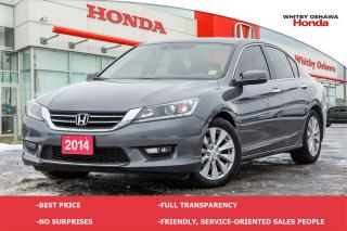 Used 2014 Honda Accord EX-L | Automatic for sale in Whitby, ON