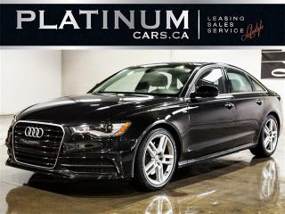 Used 2014 Audi A6 QUATTRO, NAVI, SENSORS, F/R Heated Seats for sale in Toronto, ON