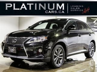 Used 2015 Lexus RX 350, F-SPORT, NAVI, for sale in North York, ON