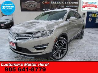 Used 2015 Lincoln MKC AWD, TECH-PKG, (ADAP-CC LANE-DEPART SELF-PARK) for sale in St Catharines, ON