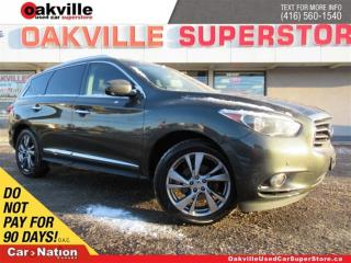 Used 2013 Infiniti JX35 LEATHER | DVD | B/U CAM | NAVI | AWD | 7 PASS for sale in Oakville, ON