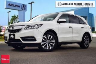Used 2016 Acura MDX Navi Super LOW Kilometers, ONE Owner, NON Collisio for sale in Thornhill, ON