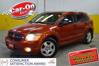 Used 2007 Dodge Caliber SXT SUNROOF HEATED SEATS ALLOTS REMOTE START for sale in Ottawa, ON