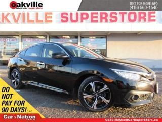 Used 2016 Honda Civic Touring | LEATHER | SUNROOF | NAVI | B/U CAM for sale in Oakville, ON