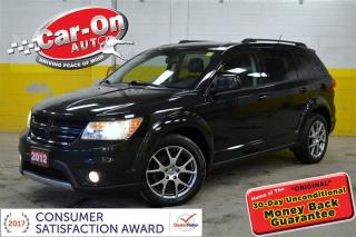 Used 2012 Dodge Journey R/T AWD LEATHER 7 SEAT REMOTE START for sale in Ottawa, ON