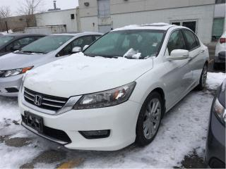 Used 2014 Honda Accord Sedan Touring, one owner, clean carproof top model for sale in Scarborough, ON