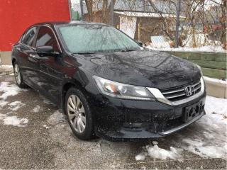 Used 2014 Honda Accord Sedan EX-L, one owner, clean carproof for sale in Scarborough, ON