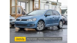 Used 2015 Volkswagen Golf Comfortline TDI LEATHER ROOF BK.CAMERA for sale in Ottawa, ON