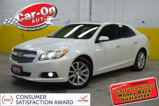 Used 2013 Chevrolet Malibu LTZ LEATHER SUNROOF HEATED SEATS REAR CAM LOADED for sale in Ottawa, ON