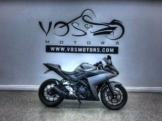 Used 2016 Yamaha YZF-R3 Free Delivery in the GTA** for sale in Concord, ON