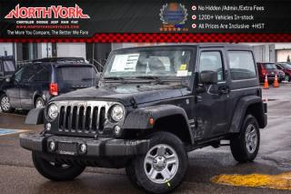 New 2018 Jeep Wrangler JK NEW CAR Sport 4x4|TrailerTow,LEDPkgs|AC|3.73RearAxle| for sale in Thornhill, ON
