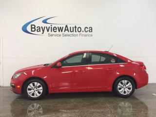 Used 2016 Chevrolet Cruze LTD- TURBO|6 SPD|A/C|REV CAM|MY LINK! for sale in Belleville, ON