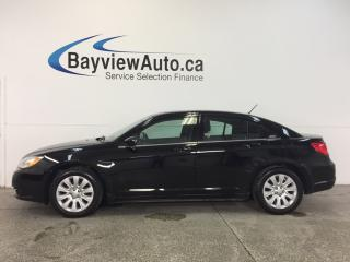 Used 2014 Chrysler 200 - 2.4L|ALLOYS|A/C|UCONNECT|CRUISE! for sale in Belleville, ON