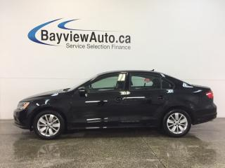 Used 2015 Volkswagen Jetta TRENDLINE- TDI|AUTO|ALLOYS|HTD STS|REV CAM|CRUISE! for sale in Belleville, ON