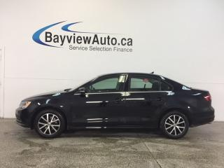 Used 2016 Volkswagen Jetta COMFORTLINE- TURBO|ALLOYS|ROOF|HTD STS|REV CAM|! for sale in Belleville, ON
