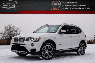 Used 2015 BMW X3 xDrive28d|Diesel|Pano Sunroof|Backup Cam|Bluetooth|Heated Front Seats|18