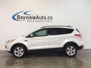 Used 2014 Ford Escape SE- 4W|ECOBOOST|HTD STS|NAV|SYNC! for sale in Belleville, ON