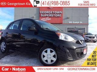Used 2015 Nissan Micra SV | CLEAN CARPROOF | AUTO | A/C | BLUETOOTH for sale in Georgetown, ON