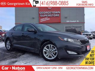Used 2013 Kia Optima EX Turbo | PANO ROOF | LEATHER | BACK UP CAM | for sale in Georgetown, ON