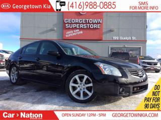Used 2007 Nissan Maxima SE | LEATHER | ROOF | HEATED SEATS AND WHEEL | for sale in Georgetown, ON