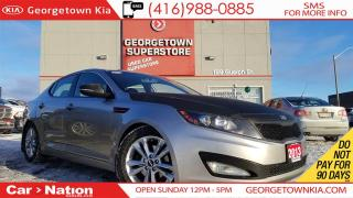Used 2013 Kia Optima EX | NAVI | LEATHER | CARBON WRAP for sale in Georgetown, ON