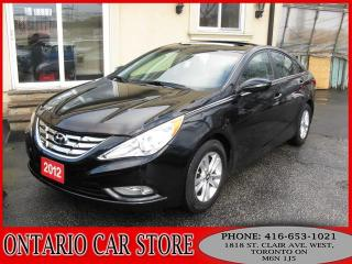 Used 2012 Hyundai Sonata GLS SUNROOF !!!CARPROOF NO ACCIDENTS!!! for sale in Toronto, ON