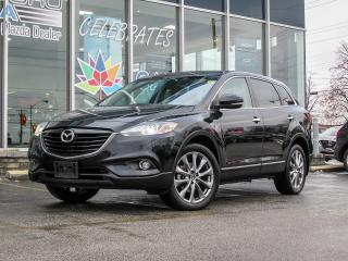 Used 2014 Mazda CX-9 GT/ BALANCE OF 7 YEARS MAZDA WARRANTY/ 0% FIANCE/ LEATHER SEATS/ NAVIGATION/ BLIND SPOT MONITORING/ REAR TRAFFIC ALERT/ POWER LIFT GATE... for sale in Scarborough, ON
