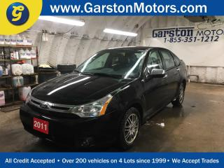 Used 2011 Ford Focus SE*KEYLESS ENTRY*POWER WINDOWS/LOCKS/HEATED MIRRORS*FOG LIGHTS*HEATED FRONT SEATS*CLIMATE CONTROL*AM/FM/XM/CD/AUX*ALLOYS* for sale in Cambridge, ON